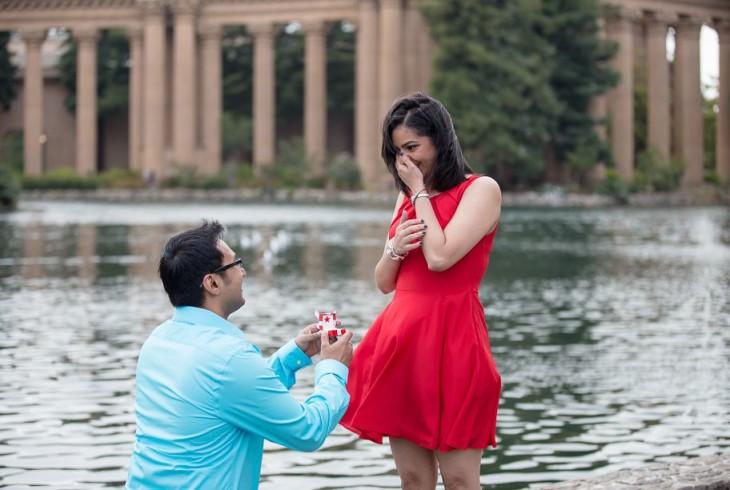 Hochzeitsantrag machen